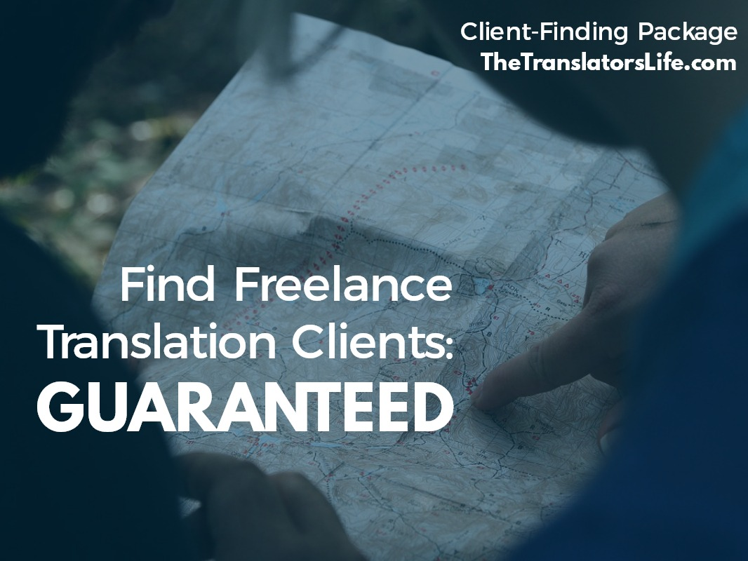 translators life client finding package