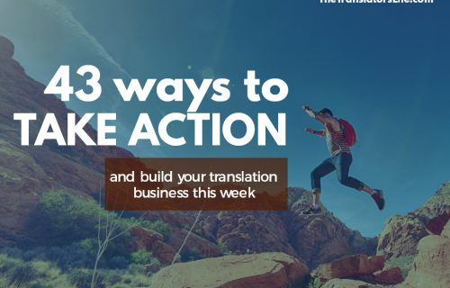 43 ways build your translation business this week